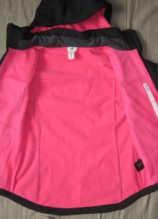 H&m (152) софтшелл теплая куртка детская3 фото