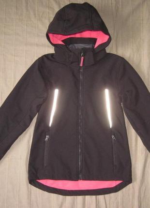 H&m (152) софтшелл теплая куртка детская