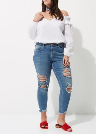249bb319253 Белые блузки Primark 2019 - купить недорого вещи в интернет-магазине ...