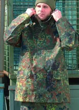 Куртка парка gore-tex непромокаемая камуфляж германия бундесвер xl
