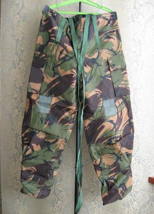 Брюки штаны хаки вудленд форма костюм военный камуфляж англия