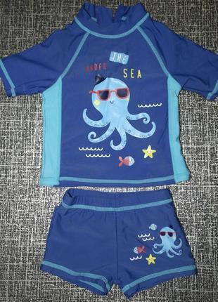 F&f детский солнцезащитный гидрокостюм осьминог купальный бассейн плаванье