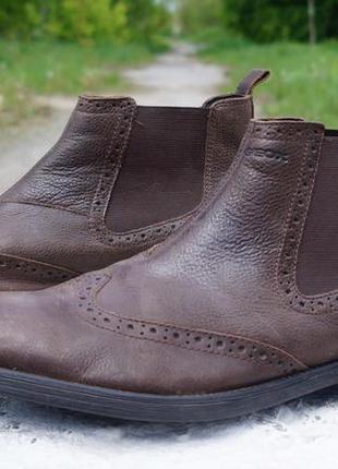 Чоловічі черевики, ботінки geox u jaylon respira