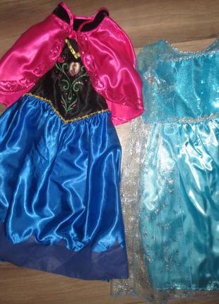 Суперские платья анны и ельзы