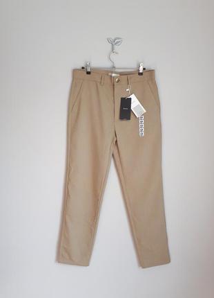 Укороченные брюки мужские bershka