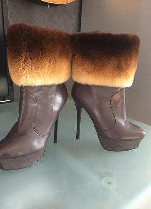 Зимнии ботинки сапоги