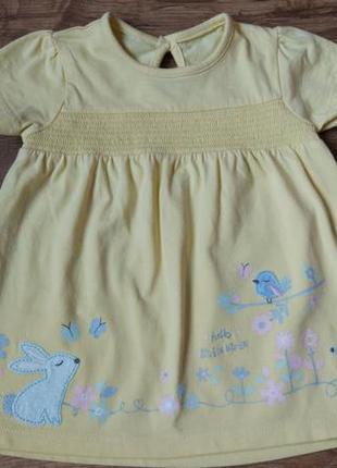 Новое платье сарафан george на 3-6 месяцев рост 62-68 см