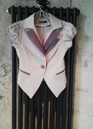 Серый пиджак от kira plastinina
