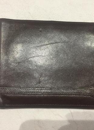 Кожаный кошелёк, портмоне