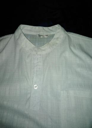 Классная  мега футболка - поло от mundo  mix  xxl