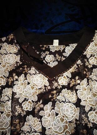 Нарядная блуза  kg  оригинал  56 р.