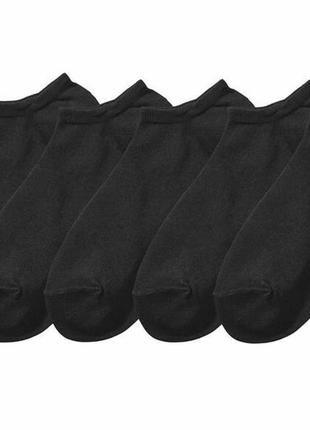 Летние короткие носки esmara германия, мужские женские, упаковка 5 пар