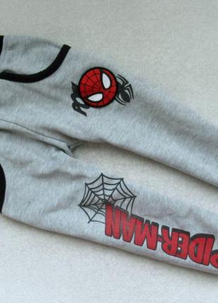 Фирменные штаники marvel spider-man 2-4г р.92-104 штаны