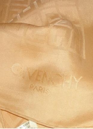 Givenchy paris платок 100% шёлк