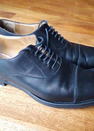 Мужские черные классические кожаные туфли gucci, р. 45