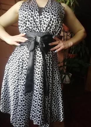4602e5bfb98 Платье в горошек с бантом кружево