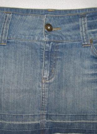 Юбка джинсовая.разм 12