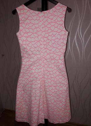 Изумительно красивое и нежное, летнее платье бело- розового цвета