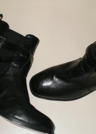 Кожаные ботинки челси tcm tchibo