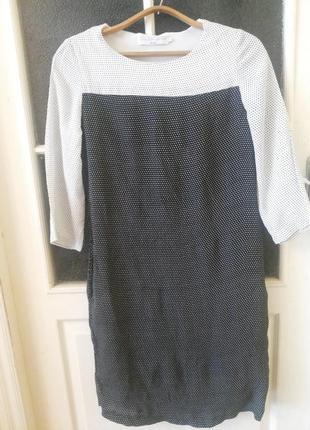 Платье в горошек прямого кроя john lewis(capsule collection)
