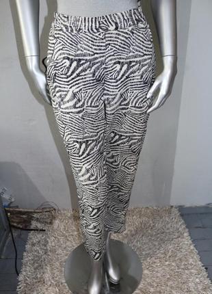 Летние штаны брюки в принт h&m