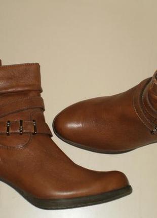 Кожаные ботинки tamaris (тамарис) 38, 39р