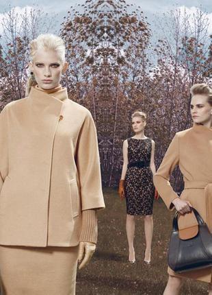 Пальто из шерсти альпаки от итальянского бренда ginzia rocca2 фото