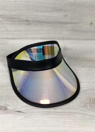 Перламутровая силиконовая кепка молодежная полупрозрачная