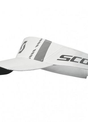 Козырек scott run race white