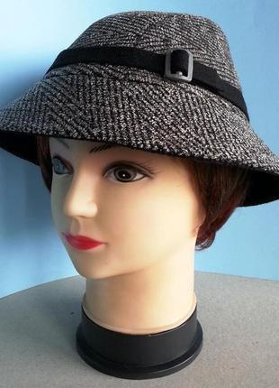 """Шляпа женская.""""федора"""". """"клош""""."""