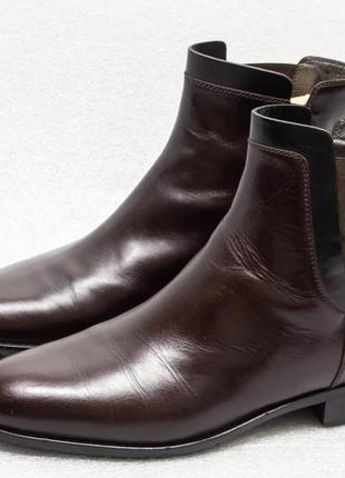 Ботинки женские по типу челси navy boot размер 41 стелька 27 см