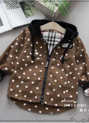 Парка курточка коричневая vogue