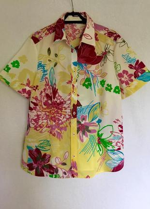 Дизайнерская хлопковая рубашка eterna