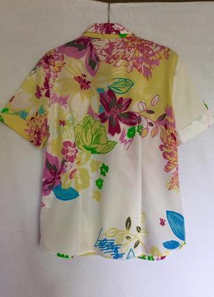 Дизайнерская хлопковая рубашка eterna2 фото