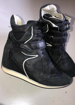 Сникерсы - кроссовки на платформе