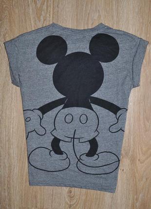 Стильная футболка с микки от disney2 фото