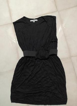 Платье с поясом оригинал чёрное & other stories
