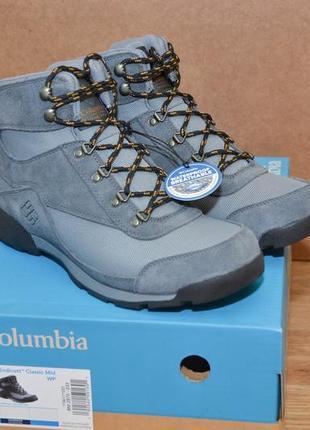 Ботинки columbia endicott classic mid wp р.43