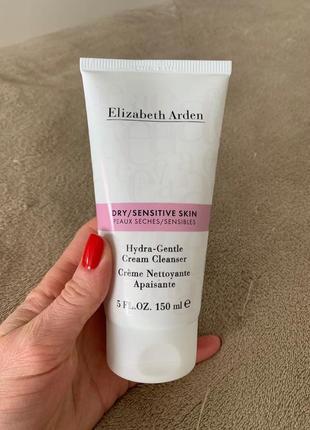 Кремовая умывалка для сухой/чувствительной кожи elizabeth arden