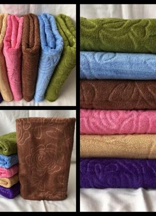 Набор банных полотенец микрофибра.