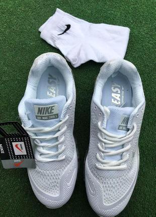 Кроссовки - в стиле nike air max (белые)4 фото