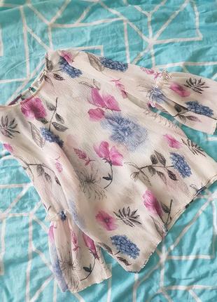 Легкая актуальная блуза от zarina