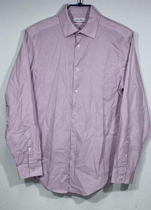Рубашка мужская calvin klein размер m состояние отличное