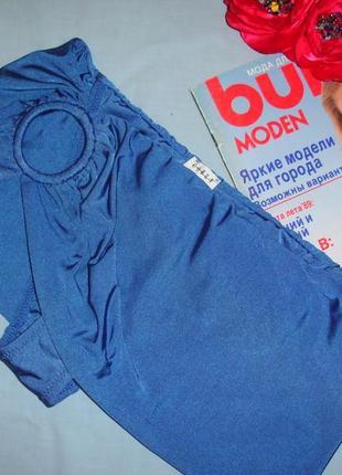 Низ от купальника раздельного трусики женск плавки размер 46 / 12 calzedonia голубой синий