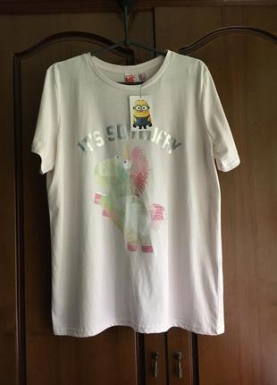 Хлопковая футболка с коротким рукавом