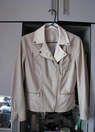 Кожаная куртка, косуха massimo dutti