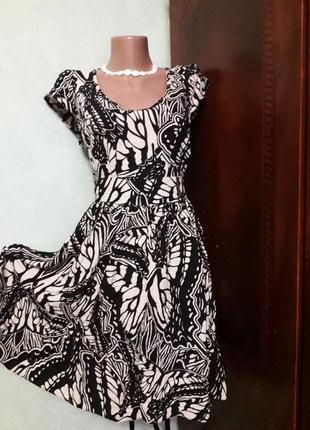 Вискозное платье.