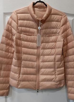 Легкий пуховик  patrizia pepe италия брендовый куртка ультралегкий