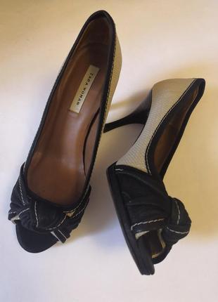 Шикарные брендовые босоножки zara woman, размер 37, стелька 24