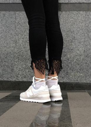 Прекрасные кроссовки new balance из мягкой замши (весна-лето-осень)😍3 фото